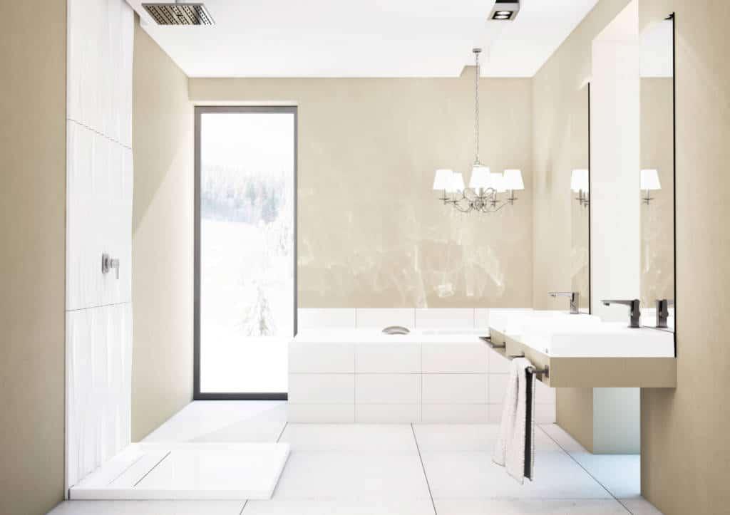 Łazienka - aranżacja łazienki Schedpol - Brodzik Camparo Stabilsound Plus®