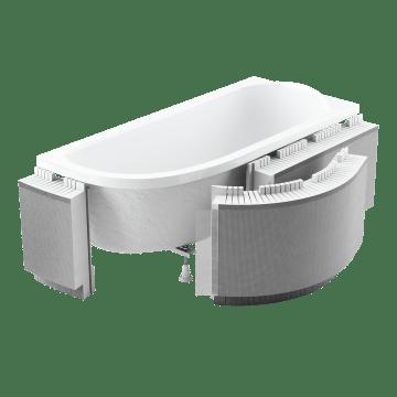 Obudowa podpłytkowa LED z półką 13,5cm