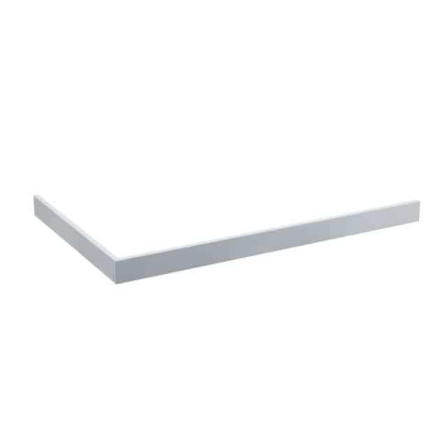 Panele White Stone (biały kamień) niskie 9cm (prostokątne)